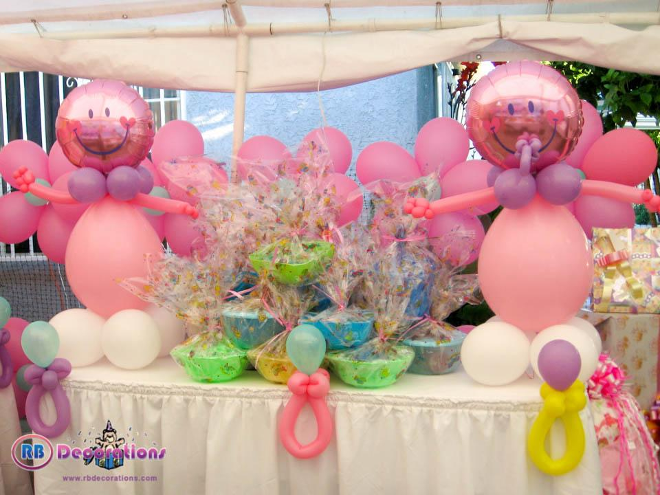Baby shower royal events providing planning and for Baby shower balloons decoration